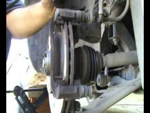 Замена тормозных колодок Opel Corsa D