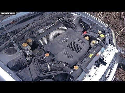 Замена воздушного фильтра двигателя Subaru Forester SG