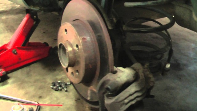 Замена задней ступицы Opel Zafira