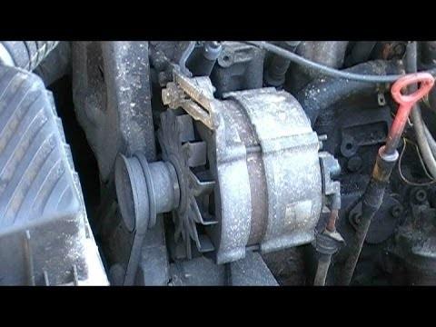 Снятие и ремонт генератора Volkswagen Passat B3