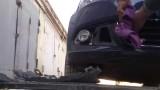 Снятие решетки радиатора Volkswagen Polo