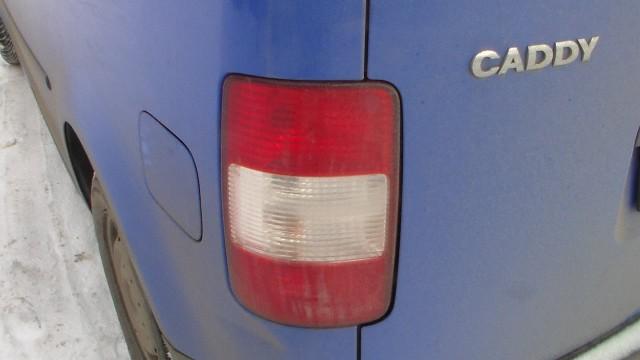 Снятие заднего фонаря Volkswagen Caddy
