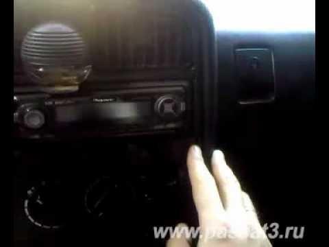 Установка дополнительных противотуманных фар Volkswagen Passat B3