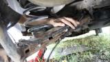Установка новых тросиков ручного тормоза Volkswagen Sharan