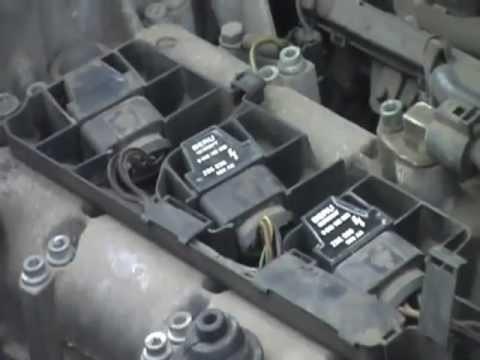Замена катушек зажигания Volkswagen Polo 1.2 AZQ