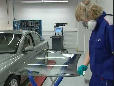 Замена лобового стекла  Volvo S40/V50
