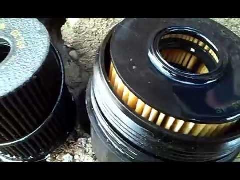 Замена масла в двигателе Volvo S40