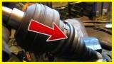 Замена пыльника ШРУСа Volkswagen Sharan