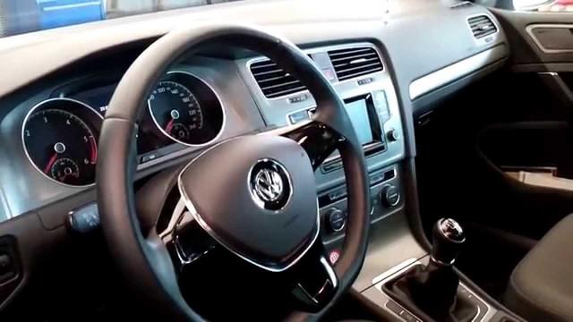 Замена салонного фильтра Volkswagen Golf 7