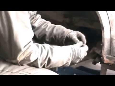 Замена ступичного подшипника Volkswagen Transporter T4