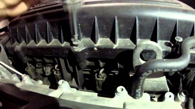 Замена свечей Volkswagen Jetta