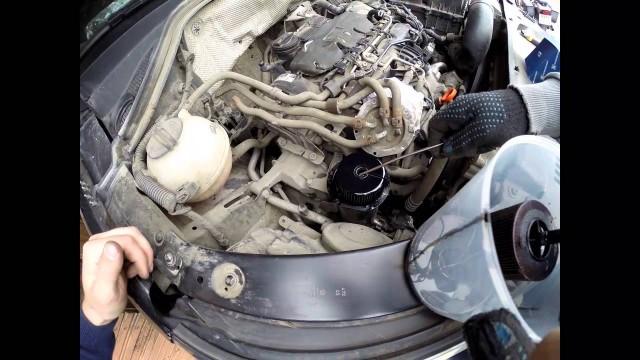 Замена топливного фильтра Volkswagen Tiguan