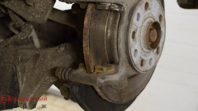 Замена тормозных колодок Volkswagen Tiguan