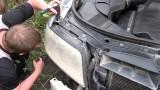 Как снять фару Audi A6 C5