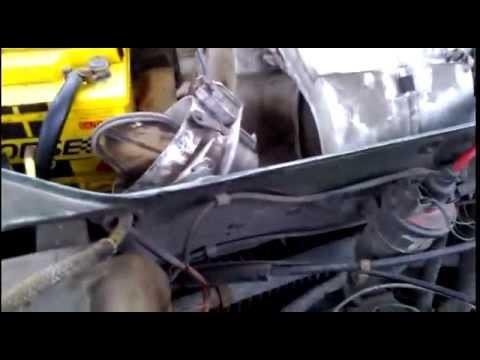 Снятие моторчика отопителя Audi 100