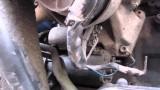 Снятие стартера Audi A6