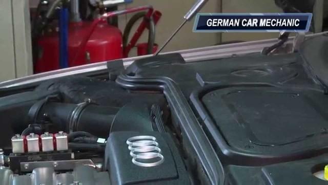 Замена салонного фильтра Audi A8