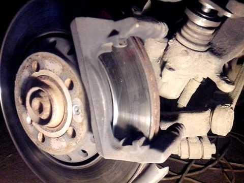Замена задних тормозных колодок Audi А8