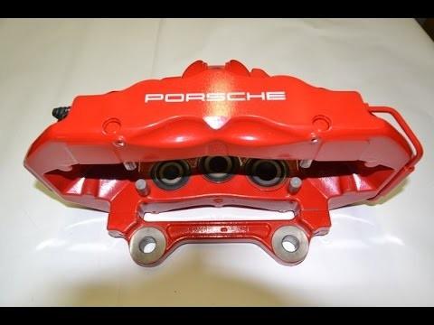 Замена задних тормозных колодок Audi Q7