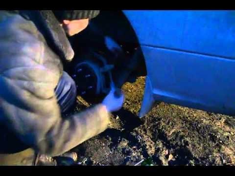 Замена задних колодок Hyundai Grand Starex