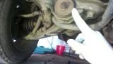 Замена задних сайлентблоков передних нижних рычагов Honda CR-V 1 RD1