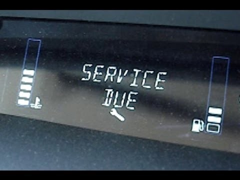 Сброс сервисного интервала Renault Scenic 2