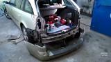 Снятие заднего бампера Renault Laguna 2