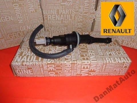 Замена главного цилиндра сцепления Renault Master 2