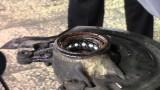 Замена переднего ступичного подшипника Renault Megane 2