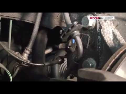Замена передних амортизаторов Renault Laguna