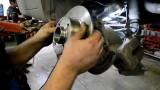Замена подшипника задней ступицы Renault Megane 2