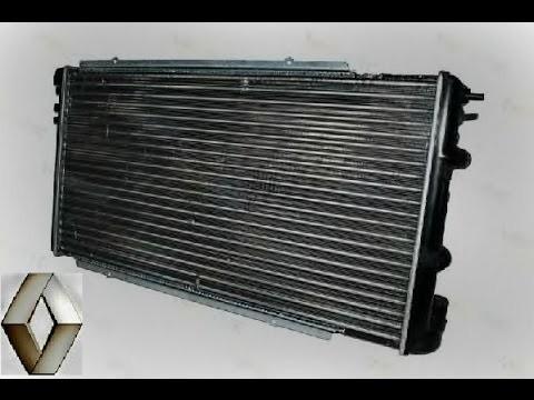 Замена радиатора двигателя Renault Master