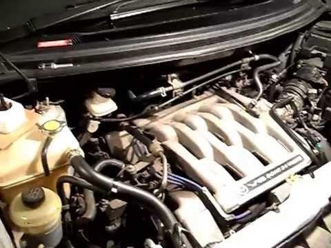 Замена свечей зажигания Mazda MPV