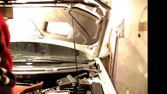 Замена воздушного фильтра Mazda MPV