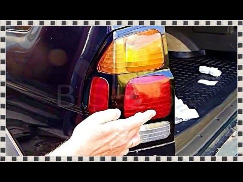 Замена задних ламп в фарах Mitsubishi Pajero Sport