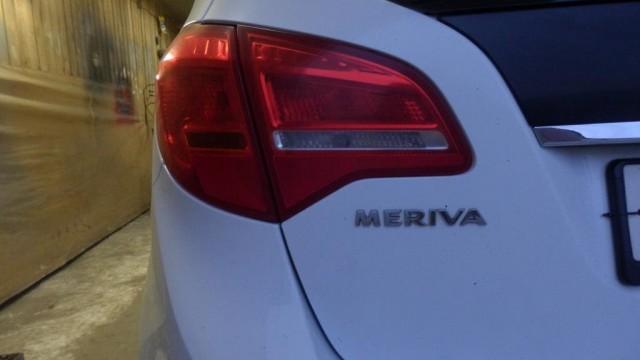 Замена задних тормозных колодок Opel Meriva B