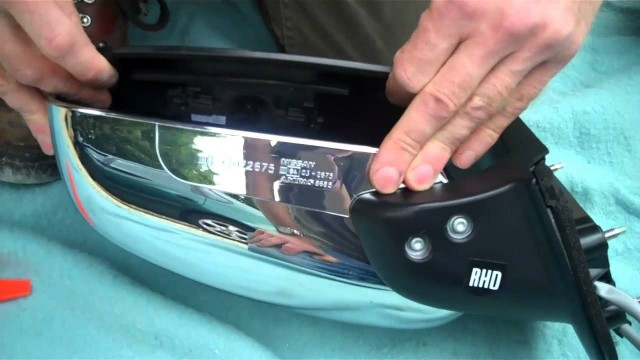 Замена зеркала Nissan Pathfinder