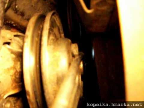 Снятие крышки насоса охлаждающей жидкости ВАЗ Классика
