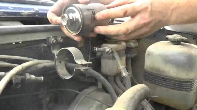Замена топливного фильтра ВАЗ 2107 (инжектор)
