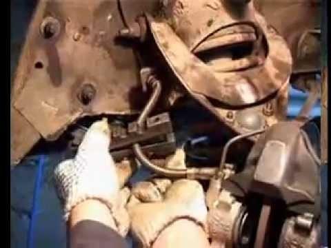 Замена тормозных шлангов ВАЗ Классика