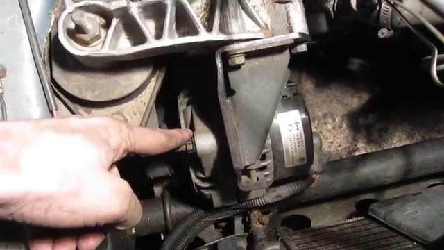 Натяжка ремня генератора ВАЗ 2110
