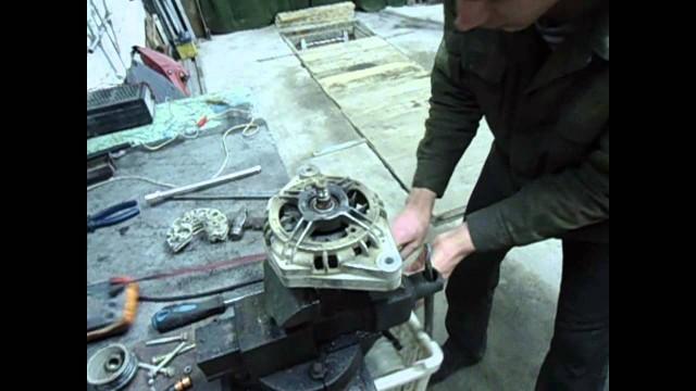 Ремонт генератора ВАЗ 2110, 2111, 2112