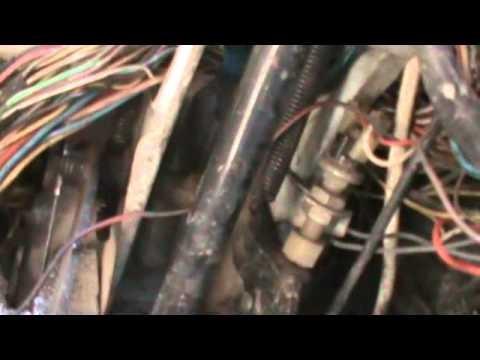 Снятие панели приборов и замена тросика спидометра ВАЗ 2108, 2109