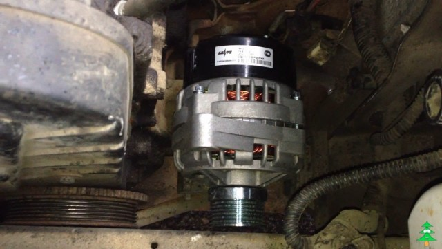 Замена генератора ВАЗ 2115