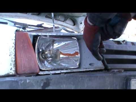 Замена стекла фары ВАЗ 2109