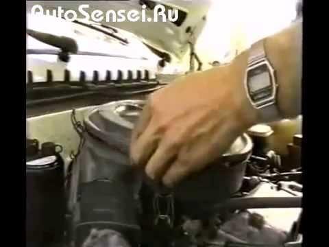 Замена воздушного фильтра ВАЗ 21099