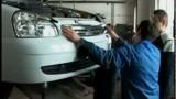 Ремонт и замена переднего бампера Lada Priora
