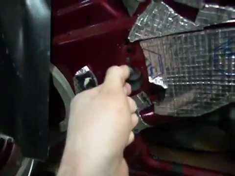 Снятие стеклоподъемника Lada Granta