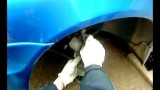 Замена передних тормозных колодок Lada Kalina