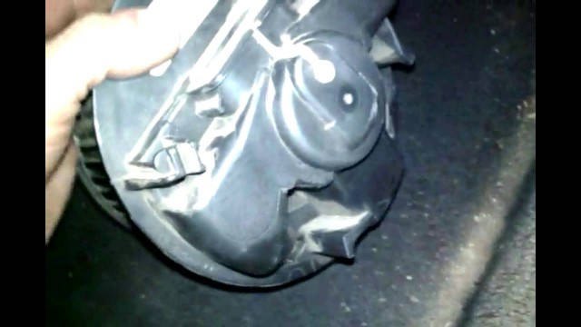 Замена вентилятора печки Lada Largus